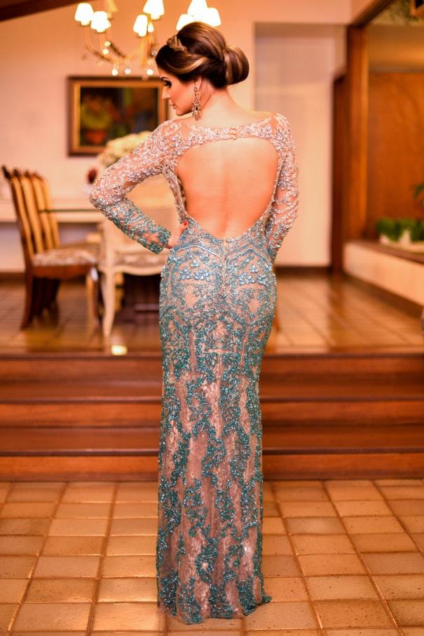 thassia naves vestido de festa