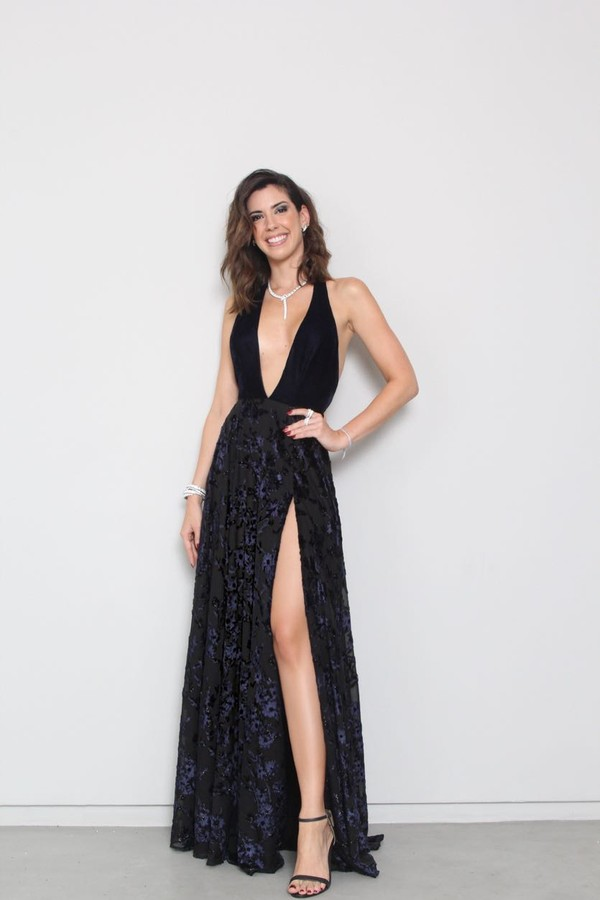 Camila Coutinho vestido Patricia Bonaldi