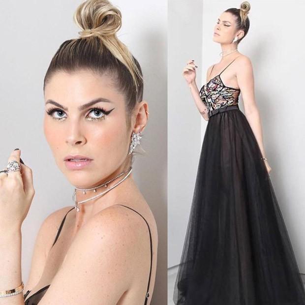 Julia Faria vestido Patricia Bonaldi