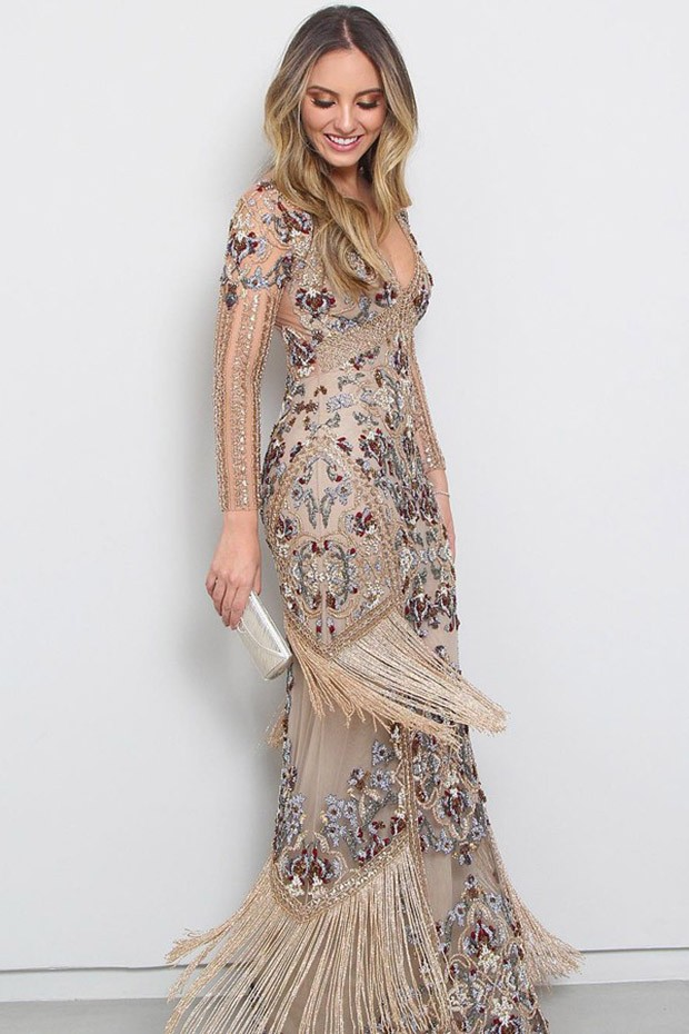 Lelê Saddi vestido Patricia Bonaldi