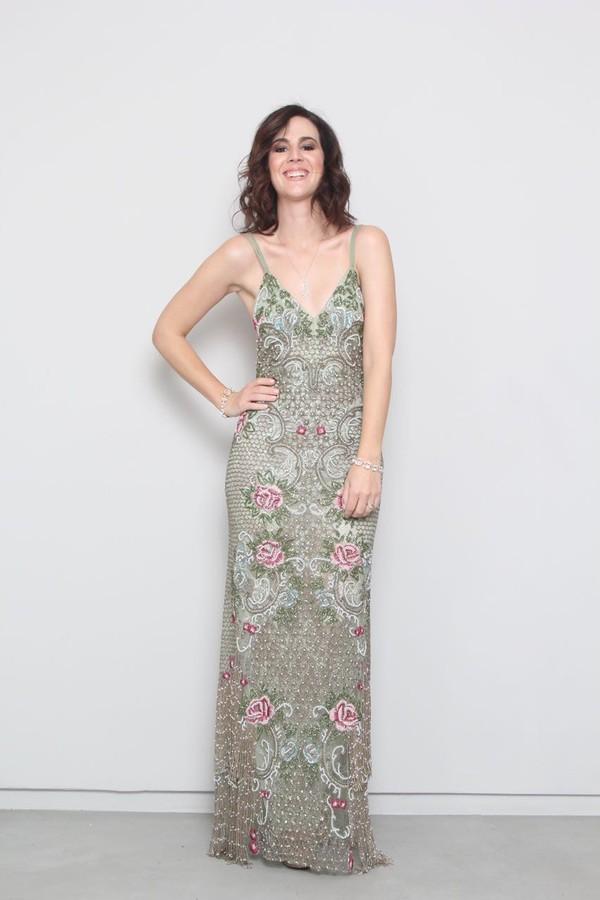 Vic Ceridono vestido Patricia Bonaldi