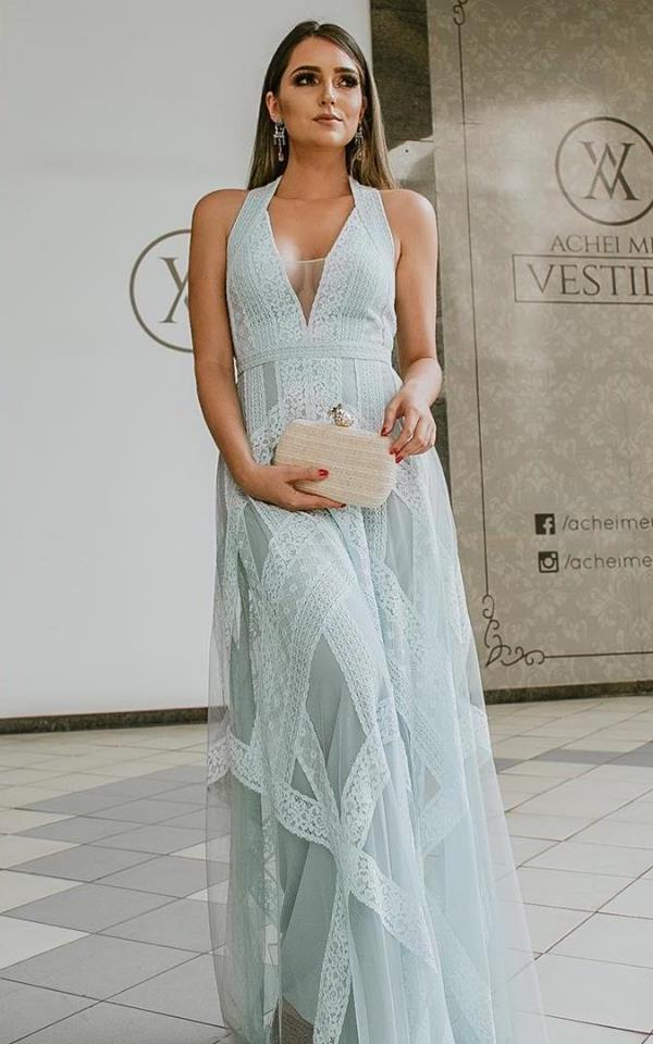Vestido para madrinha de casamento de dia