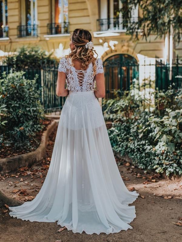 vestido branco pre wedding