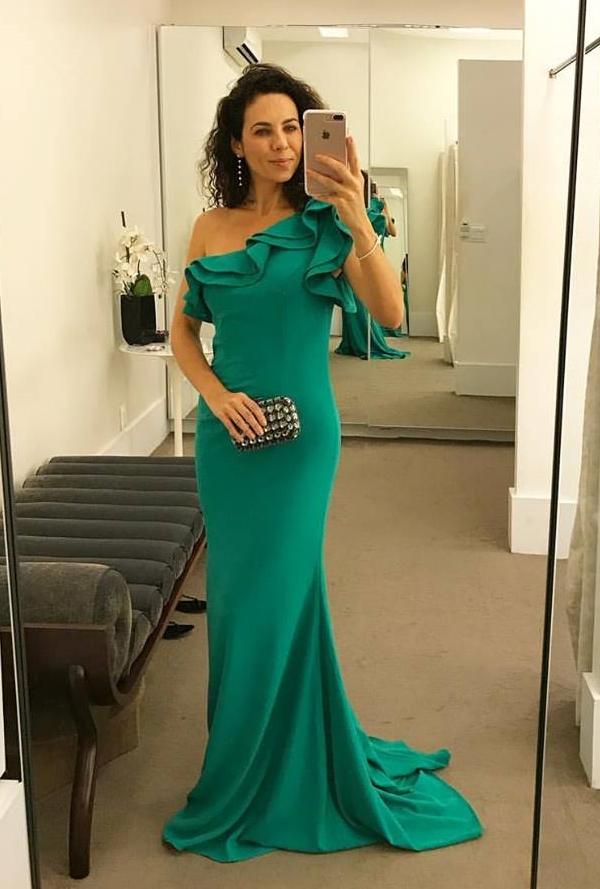 10 vestidos de festa verde