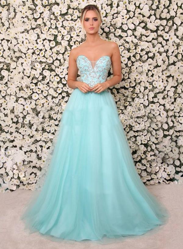 vestido tiffany debutante