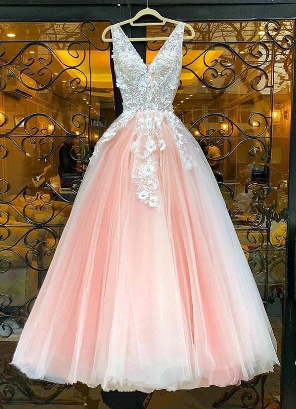 vestido estilo princesa para debutante festa de 15 anos