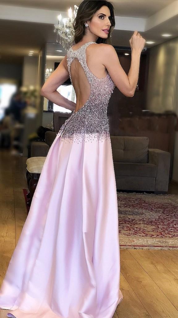 vestido rosa para madrinha