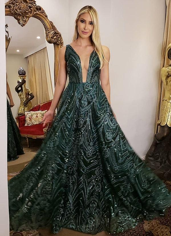 Vestido de formatura verde 2019: fotos, modelos e tendências para formandas