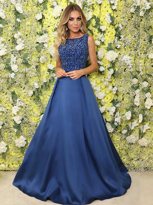 b3aebe68a Vestido de festa: do azul bic ao azul marinho - Pronta pra Festa