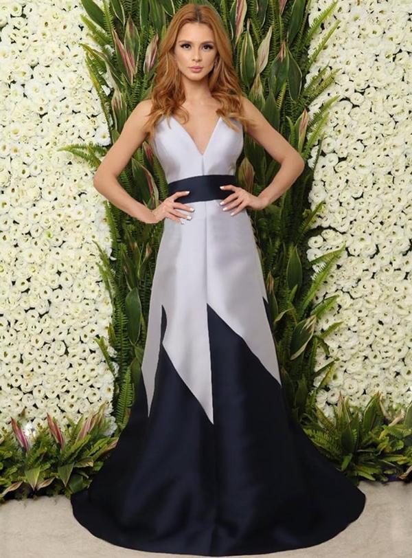 vestido de festa estilo princesa saia ampla