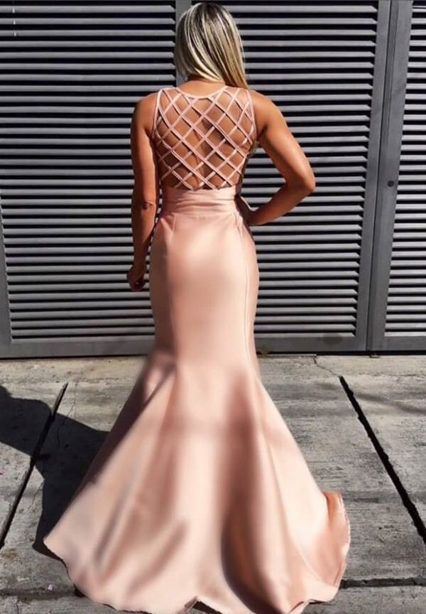 vestido de festa sereia longo rose