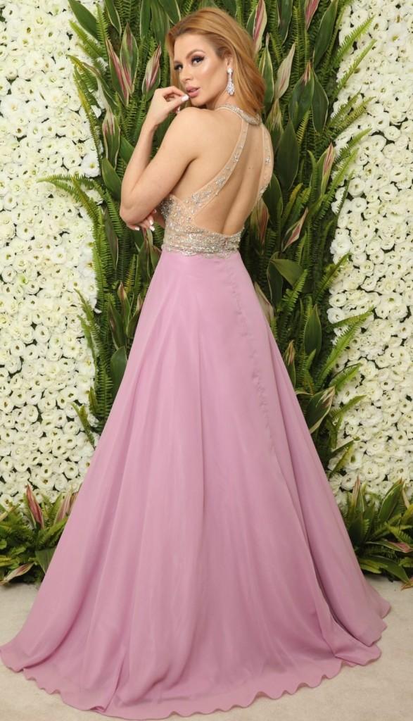 vestido lilás para madrinha