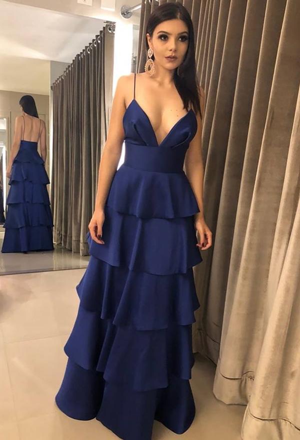 Vestido azul marinho comprar