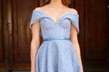 vestido de festa corpete