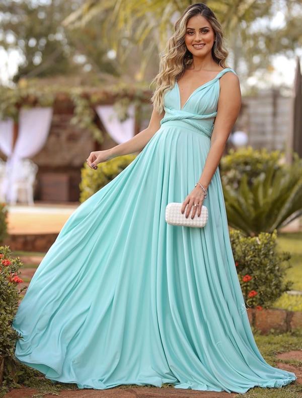 vestido tiffany para madrinha