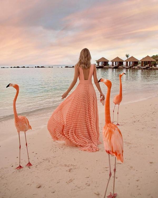 vestido para madrinha de casamento na praia
