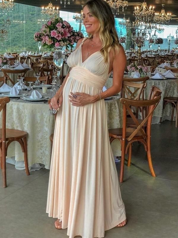 vestido de festa para grávida