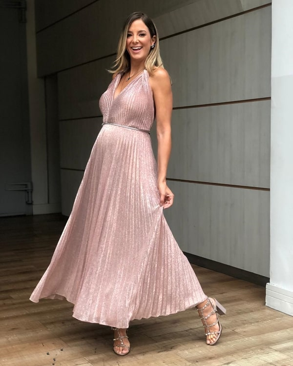 vestido de festa para gestante