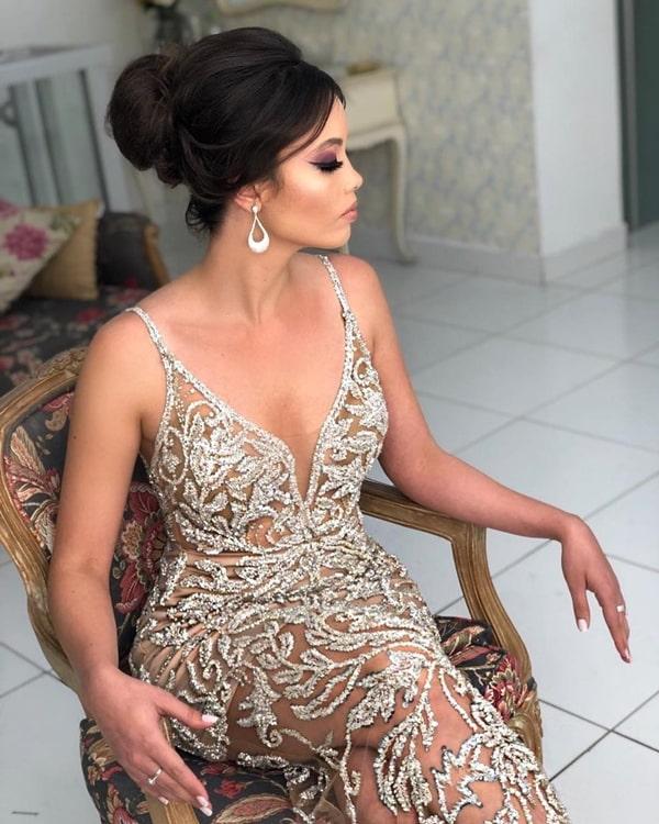 vestido baile de formatura