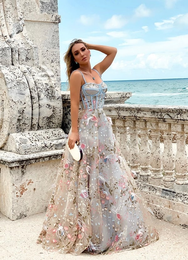 20 vestidos de festa com corpete estilo Dior (corselete)