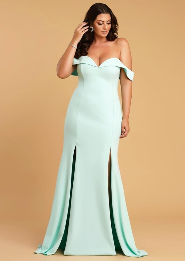 vestido longo verde claro para madrinha de casamento