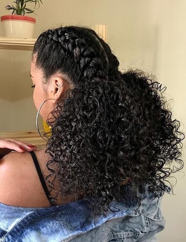 Ideias de penteados para cabelos afros, cacheados ou crespos