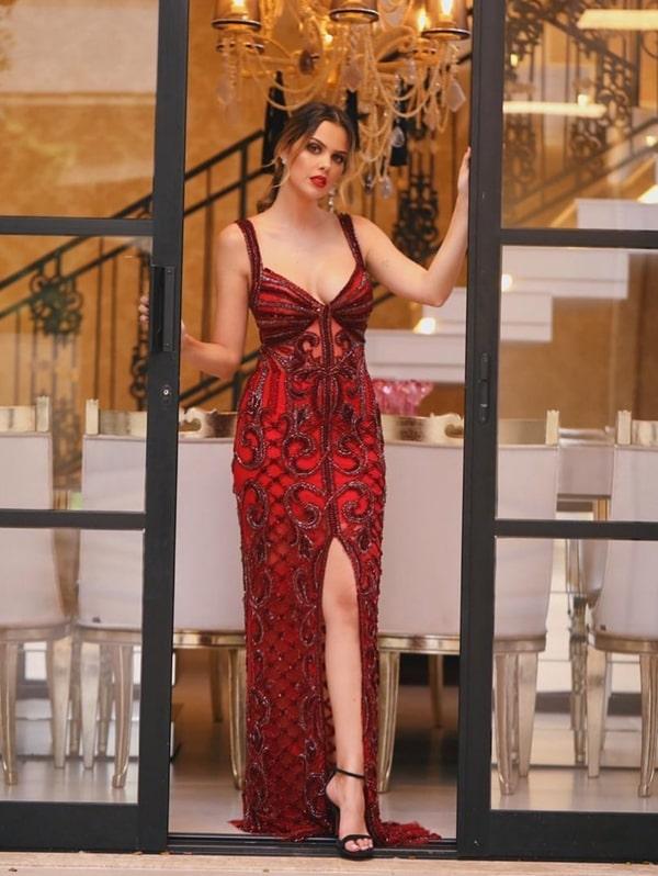Vestido de festa vermelho: 10 modelos para formandas e madrinhas