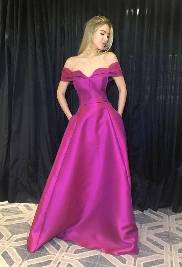 Vestido de festa pink e fúcsia: 35 longos para  usar em 2019