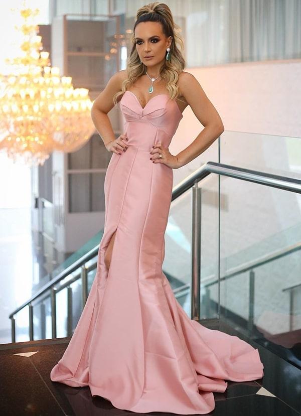 25 vestidos rosa para madrinhas de casamento 2019
