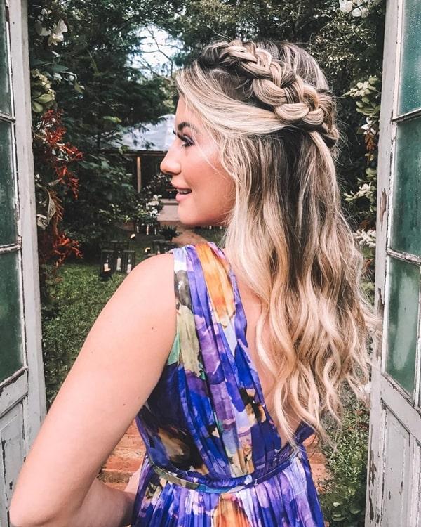 Nina Secrets penteado de festa casamento