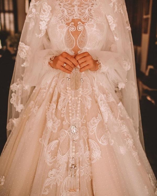 O vestido de noiva da Thassia Naves