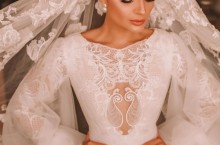 O vestido de Noiva da Thássia Naves