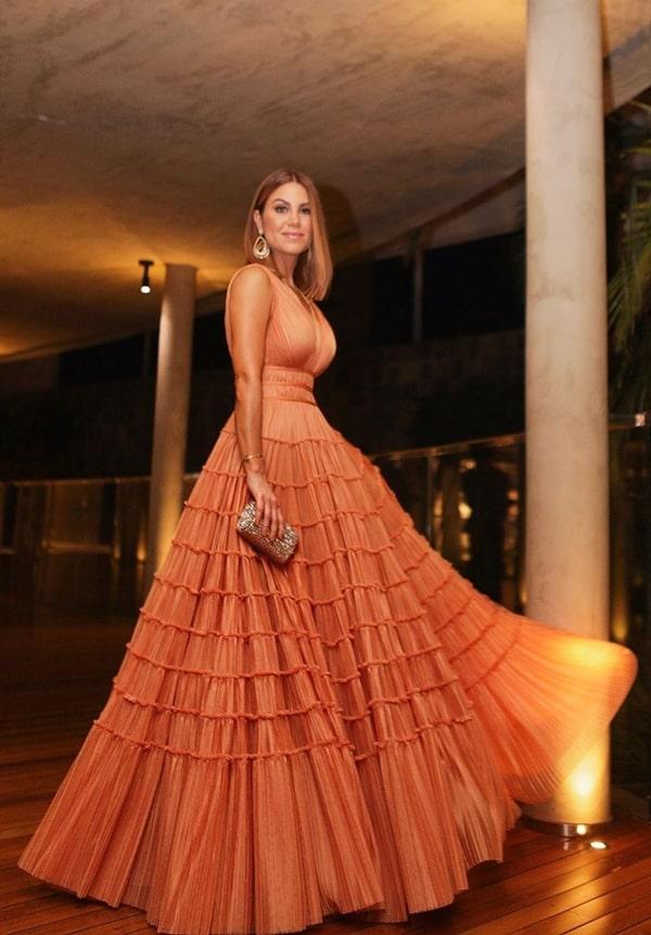 Bru real life, Bru Carsoso, vestido de festa casamento Thassia Naves