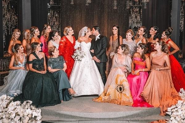 Madrinhas do casamento de Thássia Naves