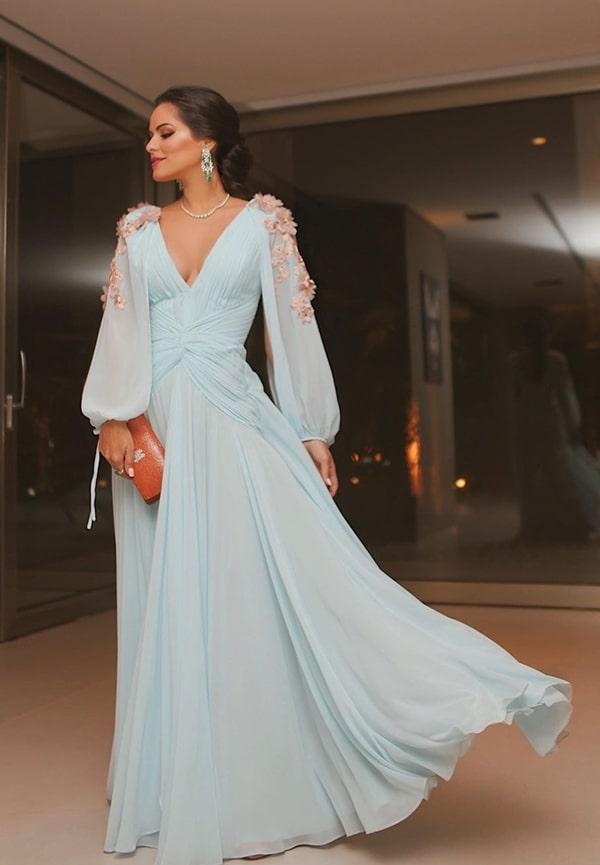 Mariah Bernardes vestido de festa Patricia Bonaldi