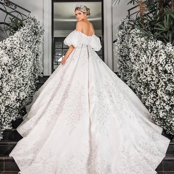 Thassia Naves vestido de noiva