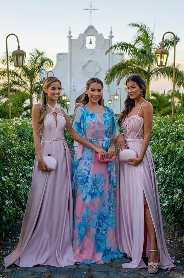 vestidos para madrinha de casamento no campo