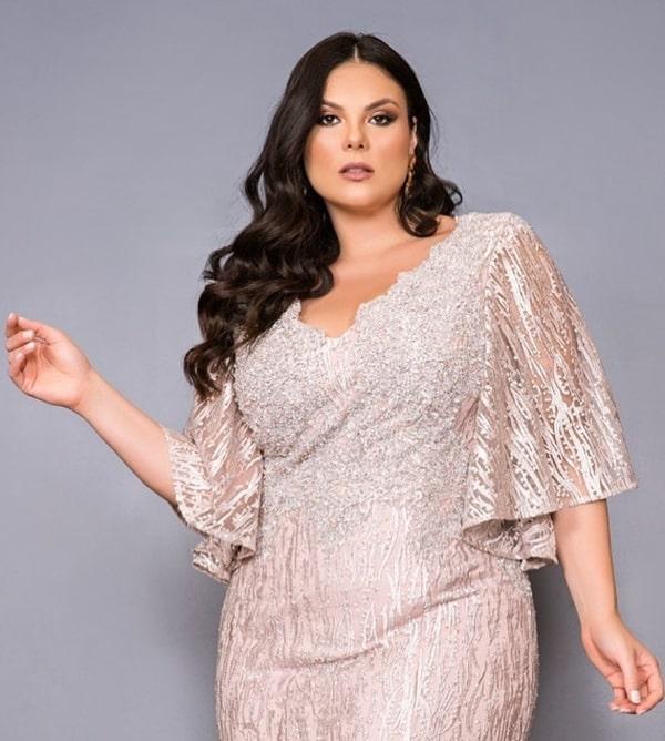 vestido para mães dos noivos 2020