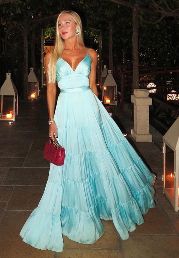 vestido de festa longo para convidada de casamento